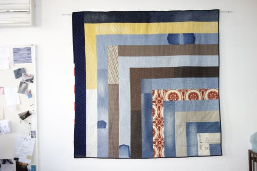 Wall Hangings by DaWitt seen at Leipzig, Leipzig - Contemporary Quilt