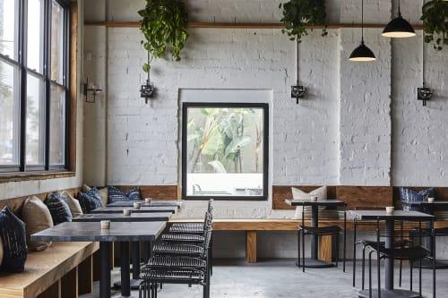 Interior Design by Solstice Interiors seen at The Plot, Oceanside - The Plot Restaurant