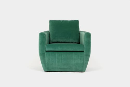 Shelby Swivel Chair | Chairs by Otra Cosa