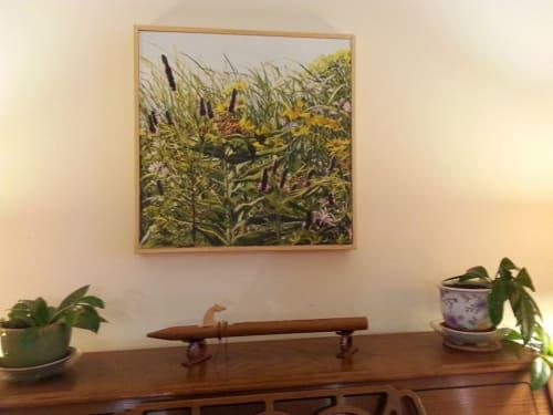 Paintings by Kathleen Krishnan seen at Private Residence, Northfield - Wild Things