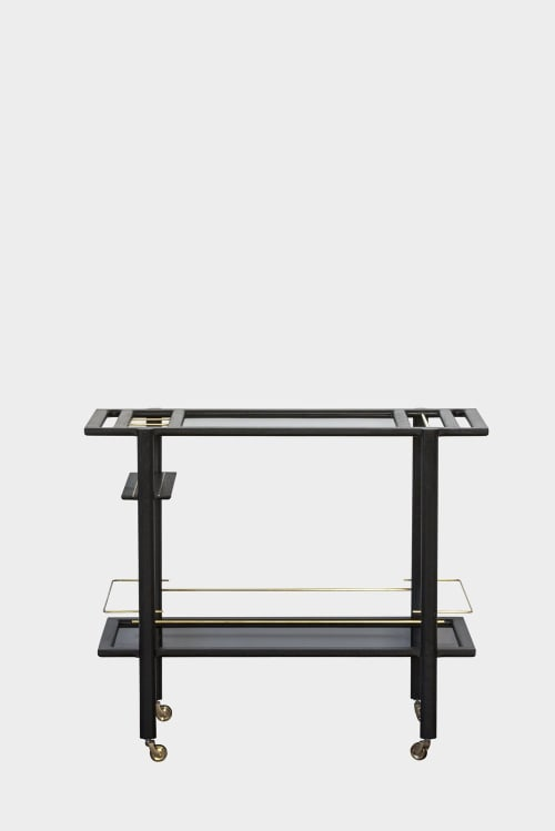 Furniture by Chris Earl seen at goop Lab, New York - Bar Cart