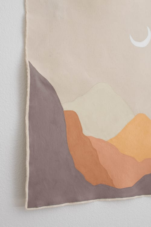 Muted Sunset   Paintings by The Northern Craft