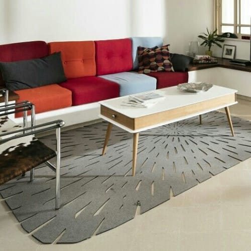 Rugs by Tamar Nix seen at Private Residence, Haifa - Star Trail Rug
