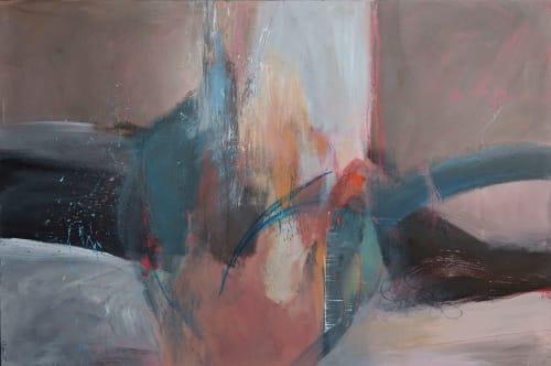Winter Elegy   Paintings by Jillian Goldberg
