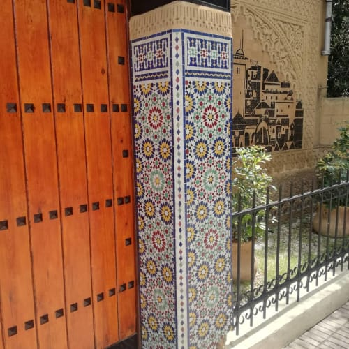 Tiles by Moroccan Tile & Stone seen at Private Residence, Fes - Mosaic Moroccan Tile
