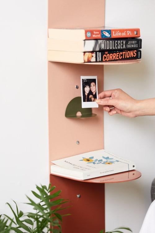 Furniture by Artish Studio seen at Private Residence, New York - Stacks modular bookshelves