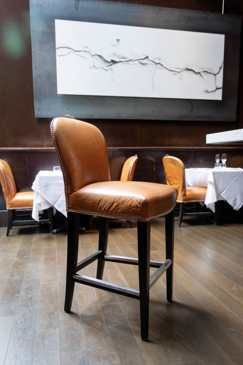 Chairs by Williams Sonoma seen at Spruce, San Francisco - Maxwell Bar Stools