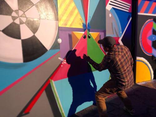 Cache - Murals and Street Murals