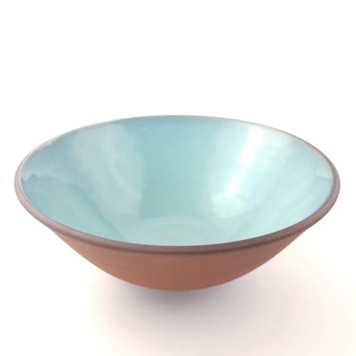Navajo Shallow Serving Bowl   Tableware by Tina Fossella Pottery