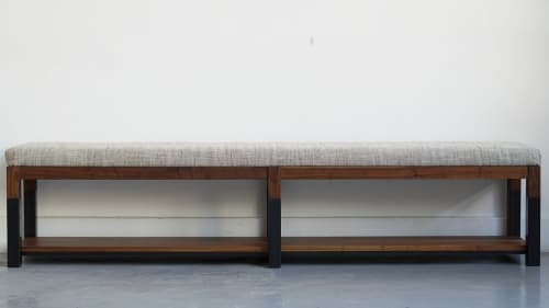 Benches & Ottomans by Ordinal Indicator seen at Ordinal Indicator Studio, The Bronx - 7' Bench