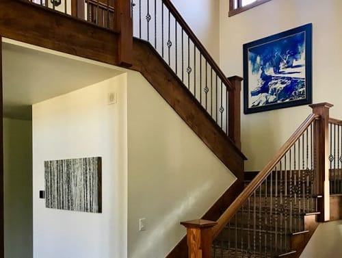 Paintings by Anastasia Kimmett seen at Snake River Sporting Club, Jackson - Landscape painting