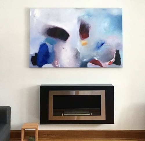 Paintings by Danielle Fontaine Koslowsky Art seen at Private Residence, Winnipeg - Mouvement with Purpose