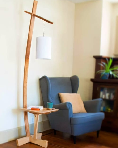 Lamps by Furniture by DeGarmo seen at Private Residence, Minneapolis - Addison Floor Lamp