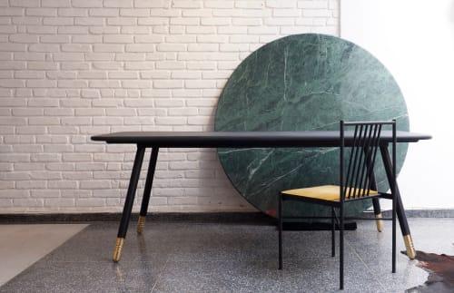 Tables by Prototyp& seen at Prototyp& Studio, Sumarezinho - Socks Table