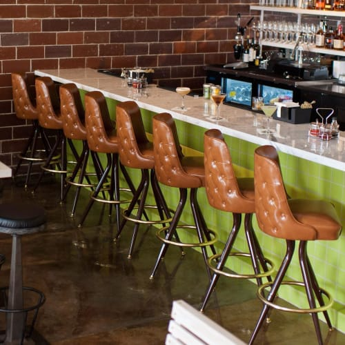 Chairs by Richardson Seating Corporation seen at The Peached Tortilla, Austin - Bar Stool - 2285