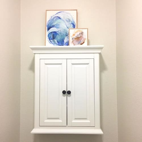 Paintings by Emily Dilbeck seen at Private Residence, Sacramento - Abstract Prints