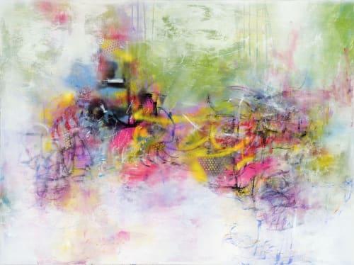 Paintings by Lisa Tureson  STUDIO ARTISTICA seen at The Yard, Washington - Symphony