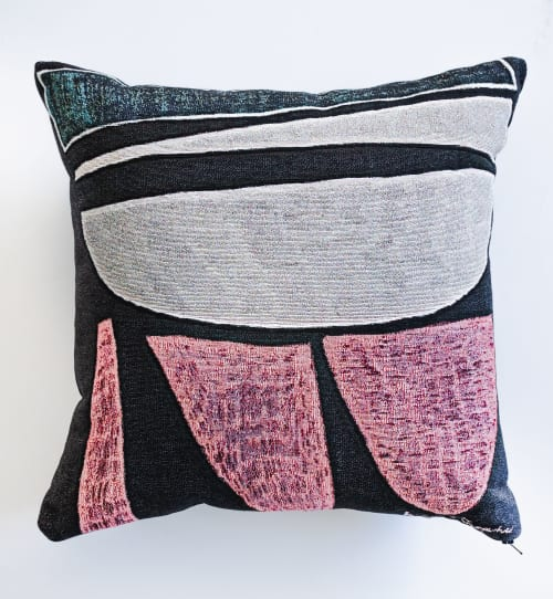 """Pillows by K'era Morgan seen at Private Residence, Los Angeles - """"Dedos"""" Throw Pillow"""
