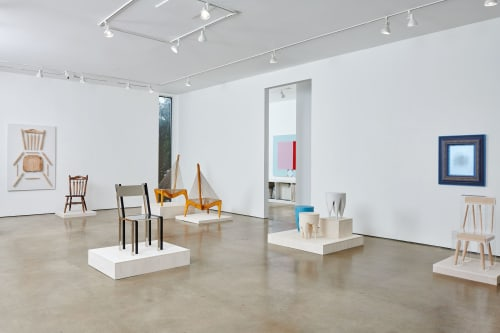 Chairs by Studio S II seen at David Shelton Gallery, Houston - DV Chair