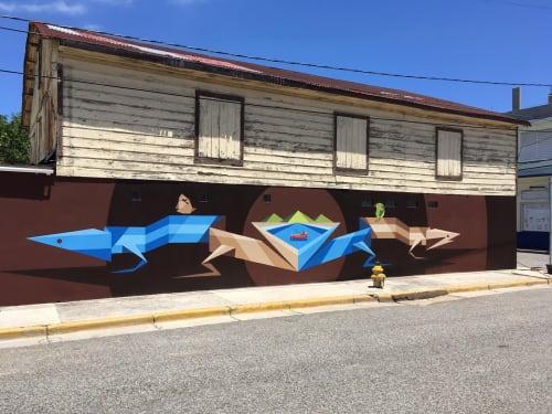 El Totem de Guanica | Murals by Spear Torres