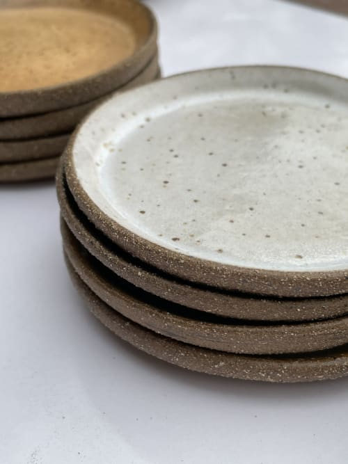 Ceramic Plates by Kristina Kotlier seen at Creator's Studio, Los Angeles - Mini Dishes