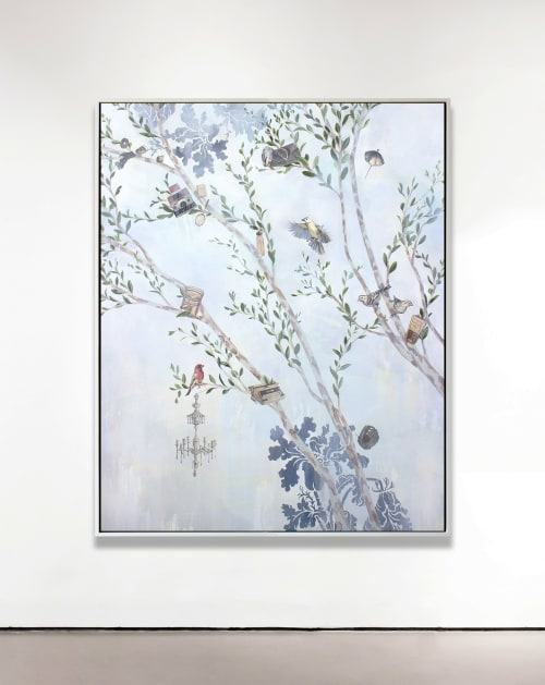 Paintings by Lauren Matsumoto seen at Bellevue Hill, Gundy - All Our Belongings