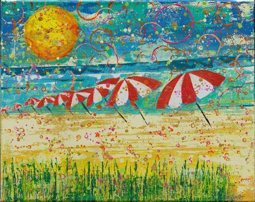 Paintings by Ben Bonart seen at Ben Bonart Art & Design LLC, Nyack - BEACHY