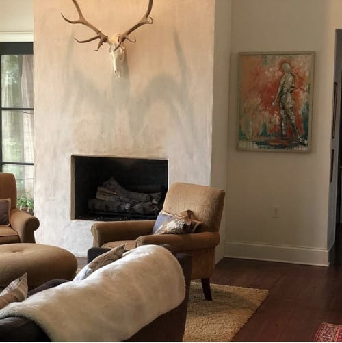 Paintings by AOS Fine Art seen at Private Residence, Madison - Ben and Ann Seale