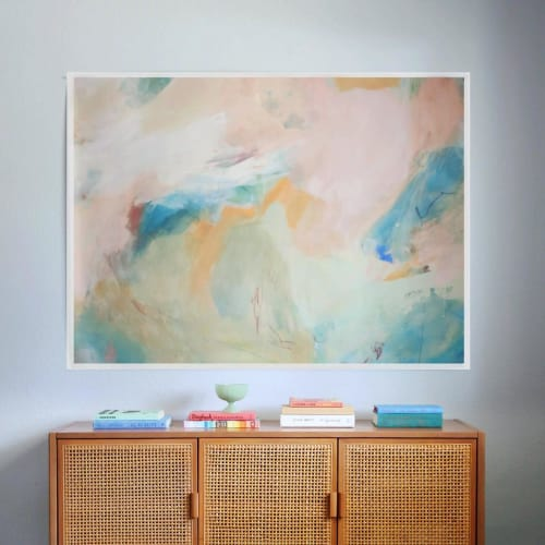Paintings by Amy Bramante seen at Private Residence, Boise - Shift