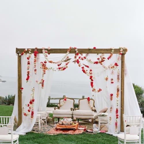Floral Arrangements by Rachael Ann Lunghi of Siren Floral Co seen at The Ritz-Carlton Bacara, Santa Barbara - Floral Arrangement