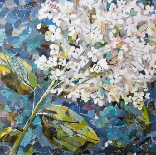Paintings by Eileen Downes seen at Private Residence, Portland - Promise