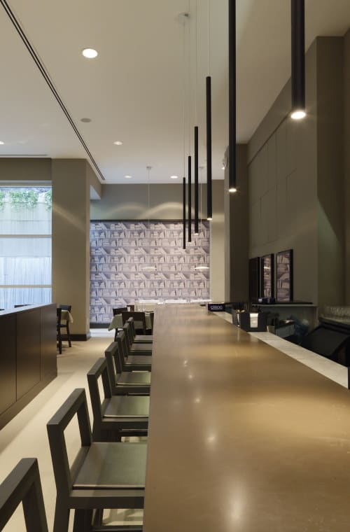 Interior Design by Federico Delrosso Architects seen at New York, New York - Cafè skyb- NYC