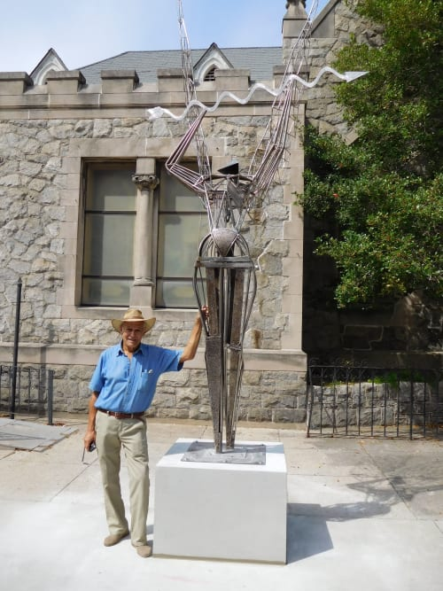 Public Sculptures by Rafael Consuegra Sculptor seen at Jacksonville, Jacksonville - The Guardian Of The River