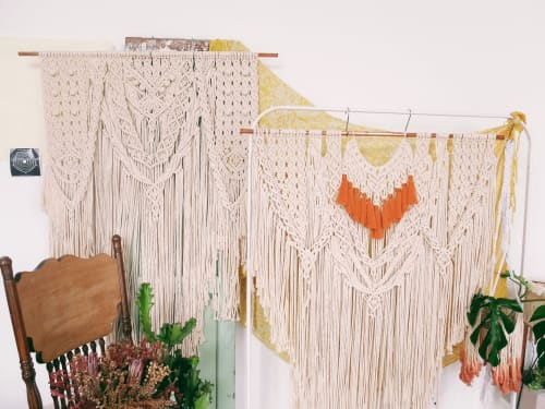 Condimentstrings - Macrame Wall Hanging and Tableware