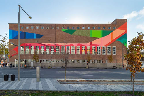 Street Murals by Ilana Pichon seen at Montreal, Montreal - Strates