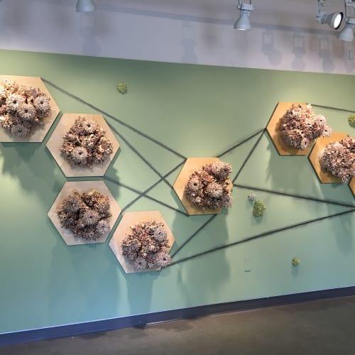 Sculptures by Susan Beiner at Krasl Art Center, Saint Joseph - Hive Expanded