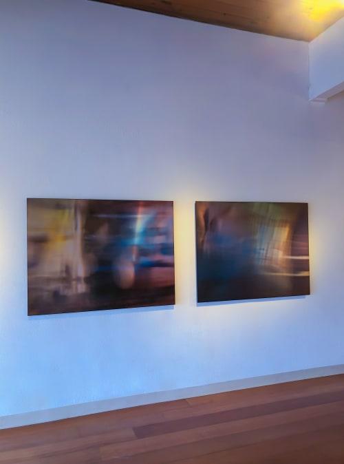Art Curation by Leslie Ebert lens based art seen at Private Residence, Portland - Foyer