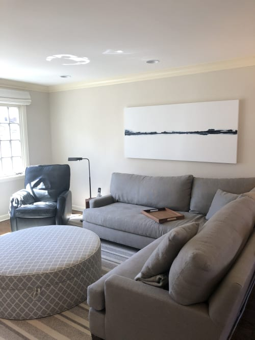 Murals by Kimberly Tschida Petters seen at Private Residence, Edina - Landscape 31