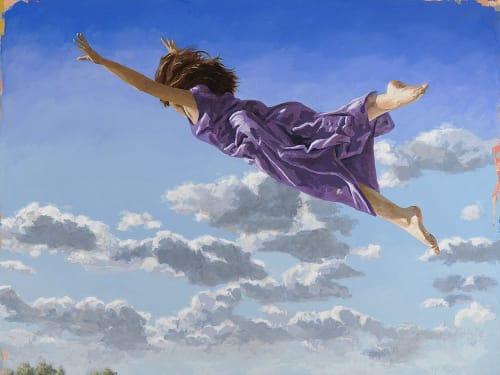 Paintings by David Palmer Studio seen at Pasadena, Pasadena - Flying Dream #1