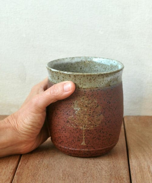 Terracotta Tree Cup | Cups by ShellyClayspot