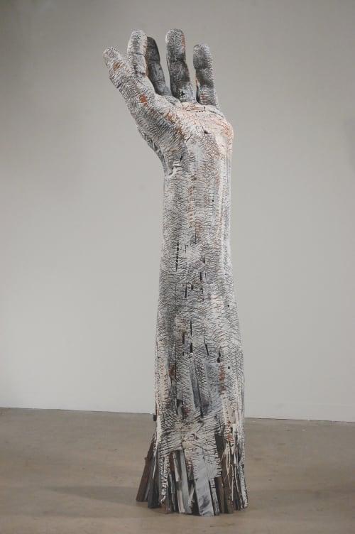 Sculptures by Andrew Ramiro Tirado seen at Atrium Art, Tulsa - Uplift