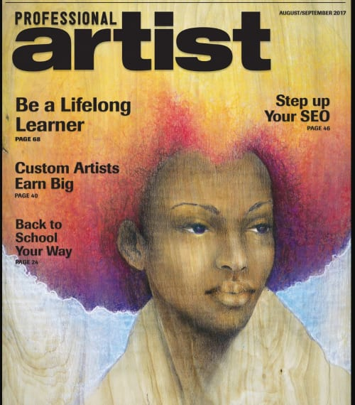 Paintings by ERIN ASHLEY seen at United States - Art published in Professional Artist magazine