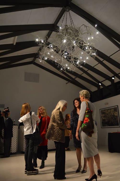 Chandeliers by Fragiskos Bitros seen at Miami, Miami - Cultural Centre