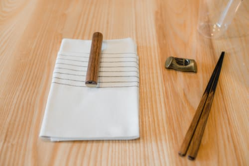 Utensils by ME Speak Design seen at Birdsong, San Francisco - Chopsticks and Chopstick Rests