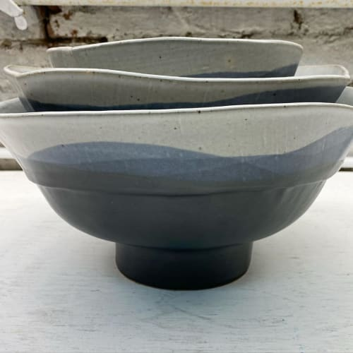 Tableware by Len Carella seen at Private Residence, San Francisco - Scala Nesting Bowl