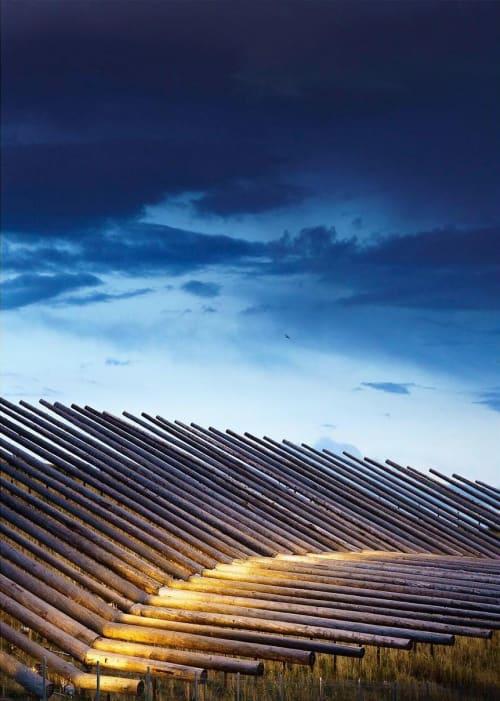 Public Sculptures by Patrick Marold Studios Inc. seen at Denver International Airport, Denver - Shadow Array