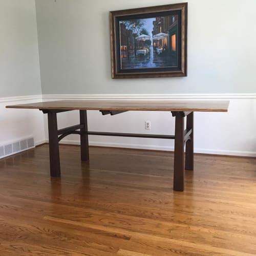 Tables by Roger S. Gaborski seen at Private Residence, Pittsford - Dining Table