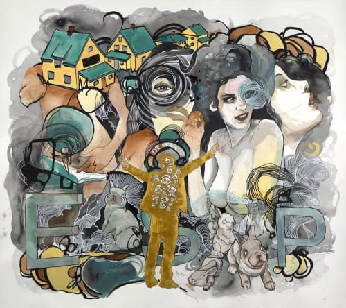 Brandon Boyd - Paintings and Art