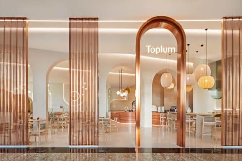Interior Design by XO Atelier seen at Mirdif, Dubai - Toplum Cafe & Restaurant