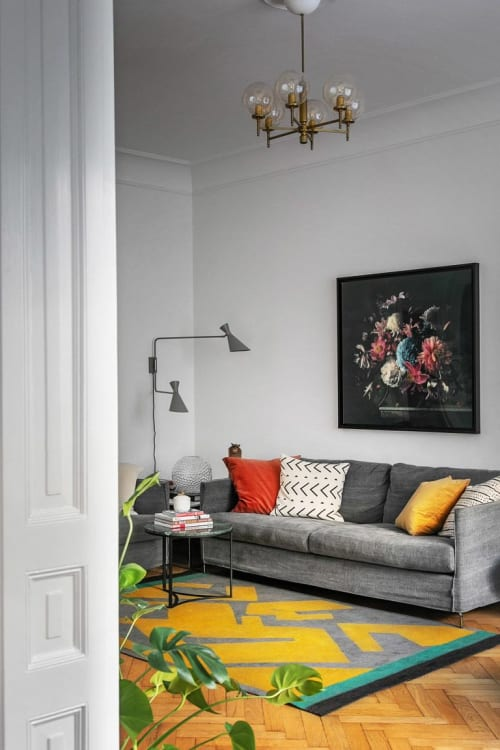 Rugs by Luminea Rugs seen at Private Residence, Stockholm - System